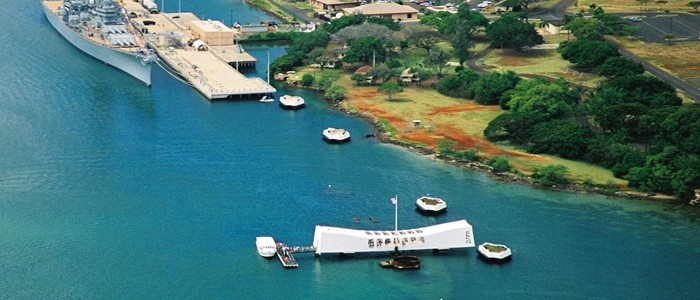 Arizona Memorial and USS Missouri